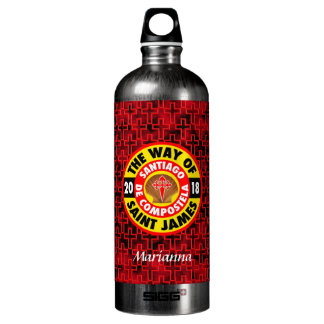 The Way of Saint James 2018 Water Bottle