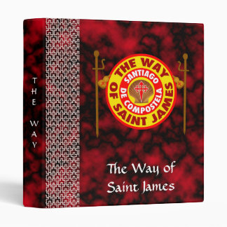 The Way of Saint James 3 Ring Binders