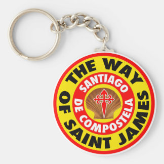 The Way of Saint James Keychain