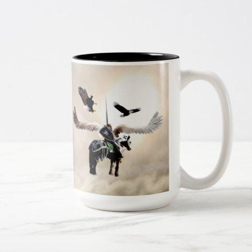The way of the warrior coffee mug