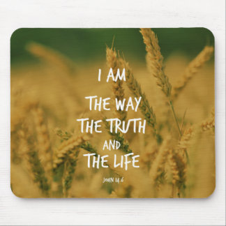 The way the Truth The Life Bible Verse Mouse Pad