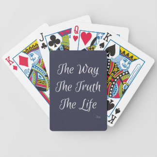 The Way, The Truth, The Life Poker Deck