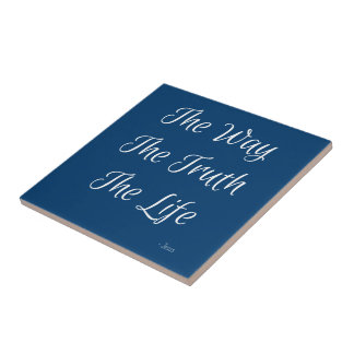 The Way, The Truth, The Life Tiles