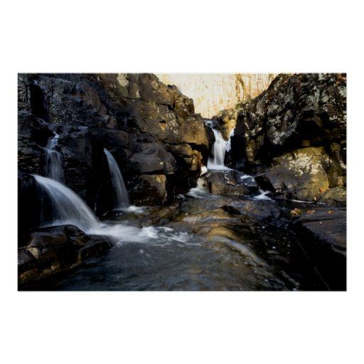 The Way to the Waterfall Print