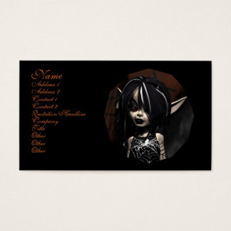 The Web Master Faery Business Card