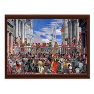 The Wedding At Cana., Wedding At Cana, Postcard