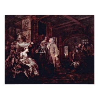 The Wedding Banquet By Hogarth William Invite