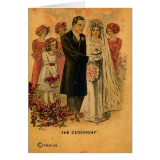 The Wedding Ceremony Card