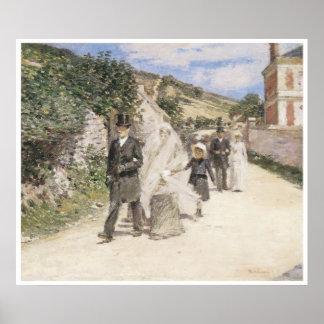 The Wedding March, 1892 Theodore Robinson Print