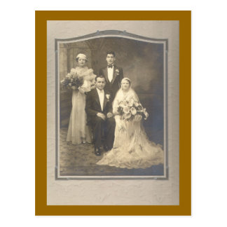 The Wedding Party Postcard