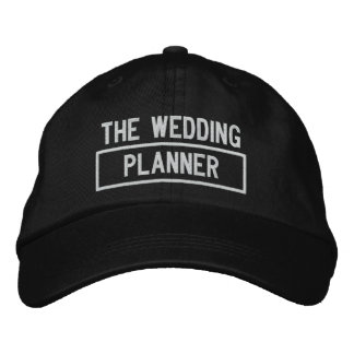 The Wedding Planner Headline Embroidery Embroidered Hat