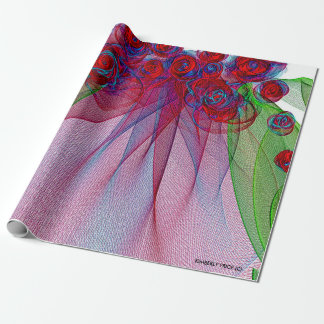 THE WEDDING VEIL SERIES GIFT WRAPPING PAPER