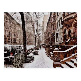 The Week After Christmas On The Upper West Side Postcard