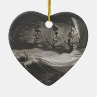 The Weird Sisters (Shakespeare, MacBeth) Ceramic Ornament