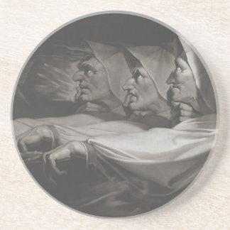 The Weird Sisters (Shakespeare, MacBeth) Coaster