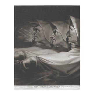 The Weird Sisters (Shakespeare, MacBeth) Letterhead