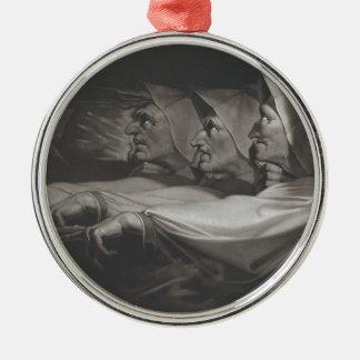 The Weird Sisters (Shakespeare, MacBeth) Metal Ornament