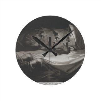 The Weird Sisters (Shakespeare, MacBeth) Round Clock