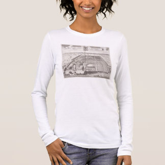 The West Prospect of Knole, from 'Thirty Six Diffe Long Sleeve T-Shirt