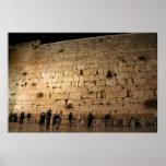 The Western Wall, Jerusalem Poster