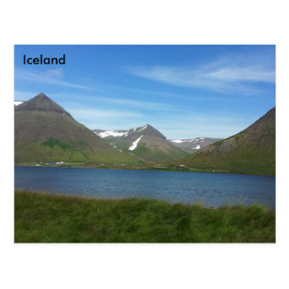 The Westfjords, Iceland Postcard