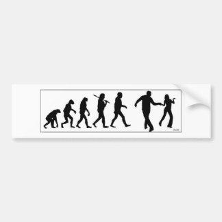 The Westie Evolution Bumper Sticker