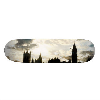 The Westminster Palace in London Skateboard Deck