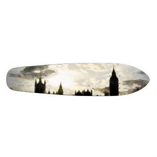 The Westminster Palace in London Skateboard Decks