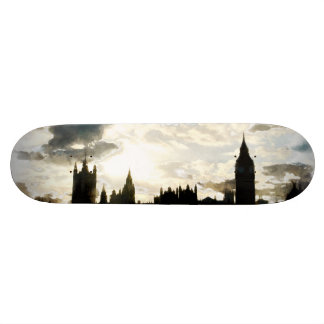 The Westminster Palace in London Skateboards