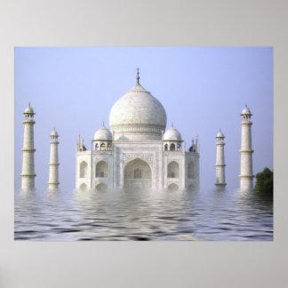 The Wet  Taj Print