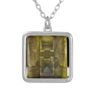 The Wharf Silver Plated Necklace