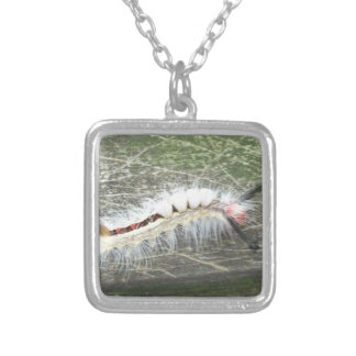 The what is it bug silver plated necklace