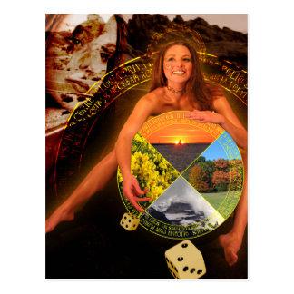 The Wheel of Fortune Tarot Card Art