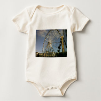 The Wheel of Manchester Baby Bodysuit