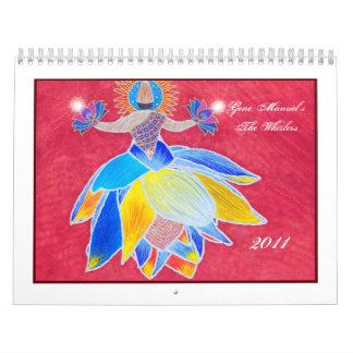 The Whirlers 2011 Calendar