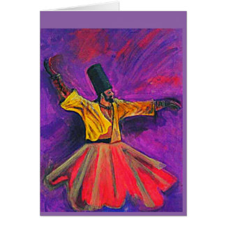 The Whirling Dervish Card