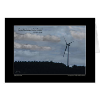 The Whisper of Wind Greeting Card