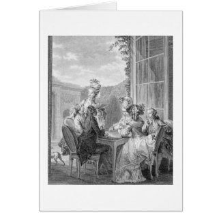 The Whist Party, 1783, engraved by Jean Dambrun (1 Card