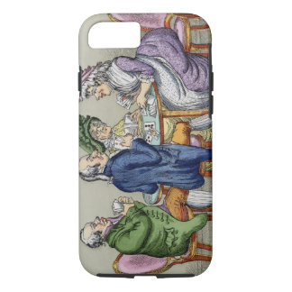 The Whist Party (colour litho) iPhone 7 Case