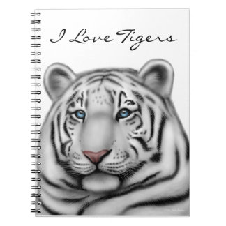 The White Bengal Tiger Notebook