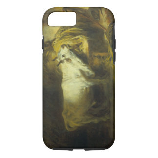 The White Bull in the Stable (oil on canvas) iPhone 7 Case
