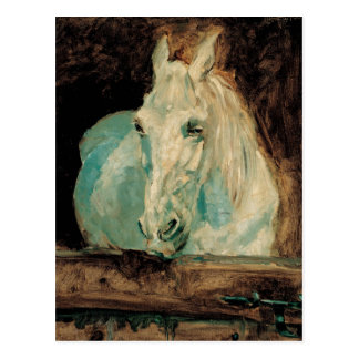 The White Horse Gazelle - Henri Toulouse-Lautrec Postcard