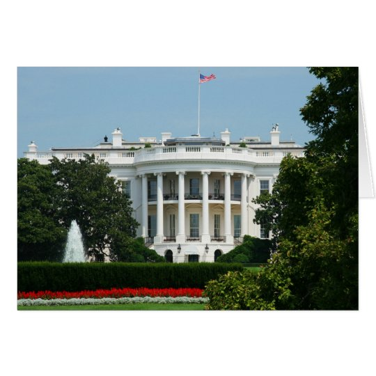 """The White House"" Greeting Card"