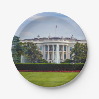 The White House Paper Plate