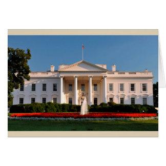 The White House, Washington D.C., USA Card