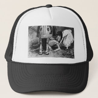 The White Knight Falls Trucker Hat