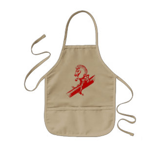 The White Knight in Red Kids Apron