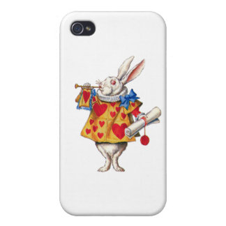 The White Rabbit Calls Court to Order iPhone 4/4S Cover