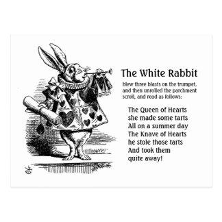 The White Rabbit CC0242  Fairy Tale Postcard