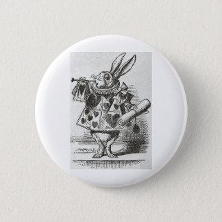 The White Rabbit from Alice in Wonderland 2 Inch Round Button